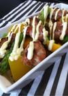 鶏肉と野菜のごちそう温サラダ
