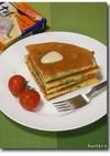 アスパラ☆チーズ☆パンケーキ