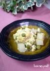 エンドウ豆と長いもの玉子とじ