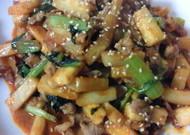 簡単!小松菜と大根と豚肉のプルコギ風