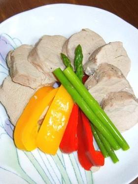 炊飯器の保温機能で豚フィレ肉のコンソメ煮