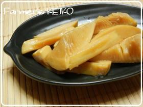 【農家のレシピ】タケノコのやみつきメンマ