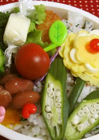 ☆お花♪かわいいお弁当☆