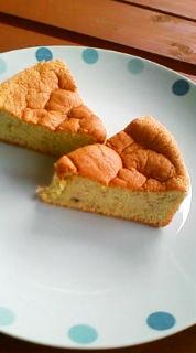 こどものおやつ☆バナナのふんわりケーキ