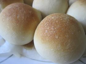 もっちり*シンプル丸パン