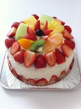 ショートケーキ デコレーション