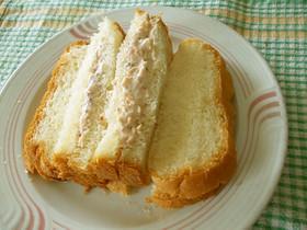 すりおろし人参のサンドイッチ