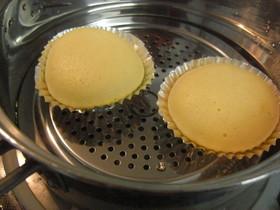 簡単プレーン蒸しパン(マーラーカオ)