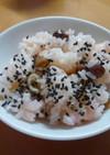 炊飯器で甘納豆のお赤飯