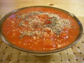 簡単!インスタントラーメンでトマト麺♪