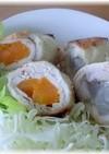 鶏ササミの野菜巻き♪