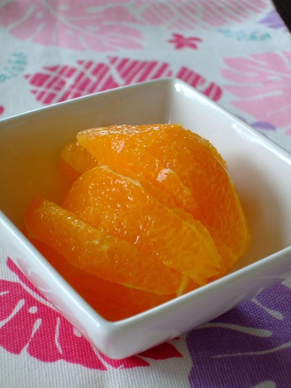 簡単☆オレンジの皮のむき方