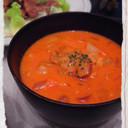 野菜ジュースで簡単!うまみたっぷりスープ