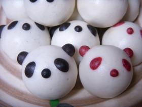 パンダのぷち饅頭