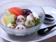 白玉パンダのあんみつの写真