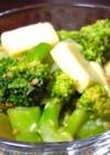 朝にぱぱっと☆ブロッコリーチーズサラダ