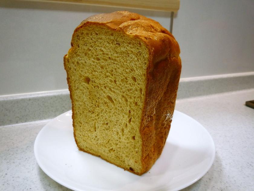 HBで香ばしいきなこ食パン♪