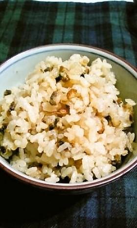 しじみと生姜の炊き込みご飯