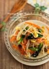 豆もやしと小松菜の彩りナムル♪お弁当にも