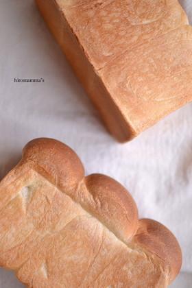 ホシノ天然酵母で焼く食パン