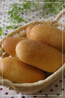 優しい味のコッペパン