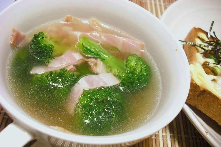 スープ ブロッコリー ブロッコリーのクリームスープ|レシピ|S&B エスビー食品株式会社