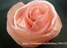 特別な日のサラダなどに☆生ハムでバラの花
