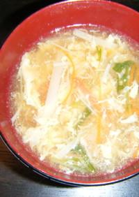 中華風野菜かきたま汁