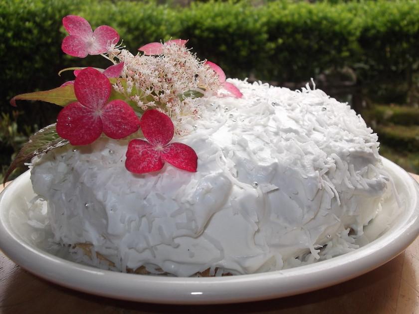 エンゼル・フード・ケーキ(天使のケーキ)