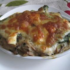◆鮭と野菜のクリームチーズグラタン◆