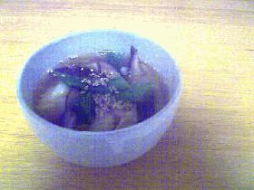 ピリ辛海鮮ワンタンスープ