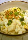 豆腐とえんどう豆の卵とじ