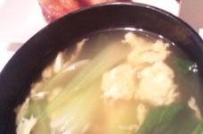 簡単★菜と玉子のスープ(和風・中華OK)