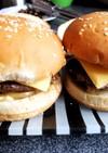 夏の休日ランチはこれ!自家製ハンバーガー
