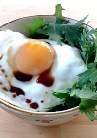 一人朝食ORランチ 目玉焼き丼