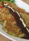 カロリー低め!豆腐入りモチモチお好み焼き