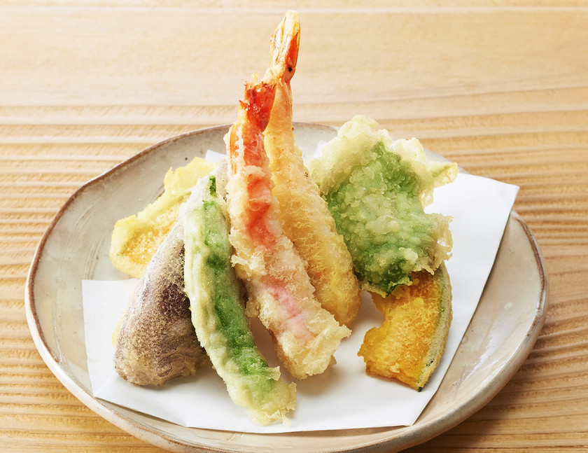 米粉でつくる天ぷら