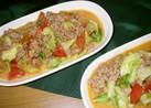 ●簡単☆キャベツと挽肉のトマトソース煮●