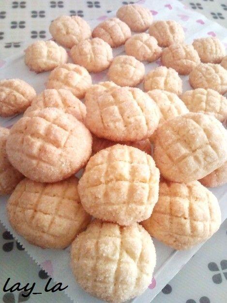 さくほろ☆ミニメロンパンクッキー