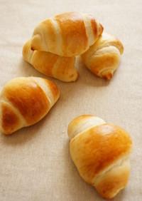* 手捏ね ❤基本バターロールパン生地♪