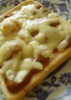 カレーの翌日の朝食は…チーズトースト♪