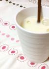 豆乳とホエーのラッシー