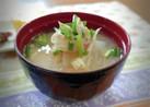 えのきと絹豆腐の味噌汁