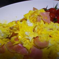 朝食用の卵焼き