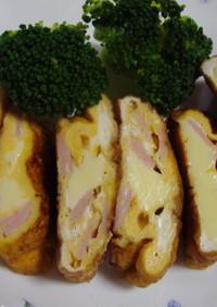 ゴロゴロチーズのオムレツ