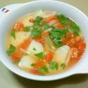 母直伝!セロリとトマトのスープ