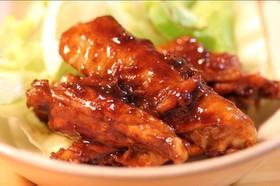 鶏の味噌黒酢焼き