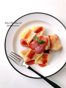 忙しい朝に!レンジで簡単フレンチトースト