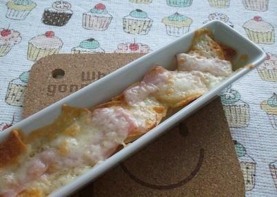 余ったポテチで☆ポテチのチーズ焼き☆