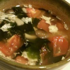 食べるトマトゴロゴロスープ